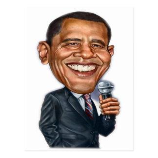 Serie de la caricatura de Barack Obama Postal