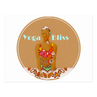 Serie de la dicha de la yoga postal