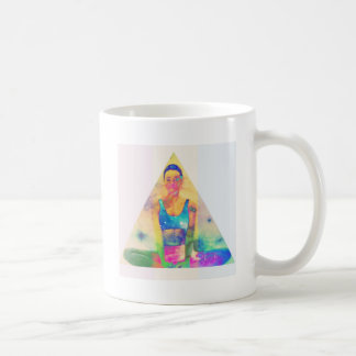 Serie de la yoga del chica de Dharma Taza De Café