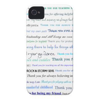 Serie del aprecio - gracias papá por… iPhone 4 cárcasas