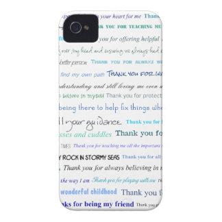 Serie del aprecio - gracias papá por… iPhone 4 Case-Mate cárcasa