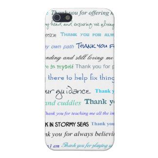 Serie del aprecio - gracias papá por… iPhone 5 funda