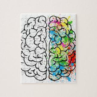 serie del cerebro puzzle