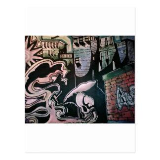Serie del Enfermo-Arte de Austin Stilphens Tarjeta Postal