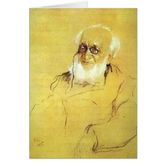 Serov-Retrato de Valentin de P. Semenov-Tien-Shans Tarjetas