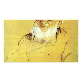 Serov-Retrato de Valentin de P. Semenov-Tien-Shans Tarjetas De Visita