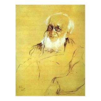 Serov-Retrato de Valentin de P. Semenov-Tien-Shans Tarjetas Postales