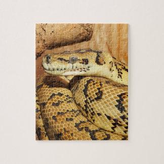 Serpiente del pitón puzzle