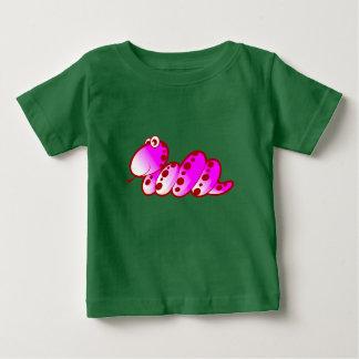 Serpiente púrpura camiseta de bebé