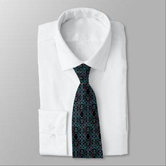 Serpiente que persigue el modelo inconsútil de la corbata