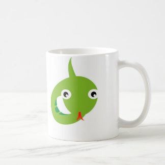serpiente taza de café