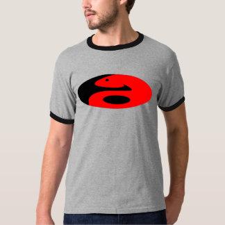 Serpiente Yin Yang Camiseta
