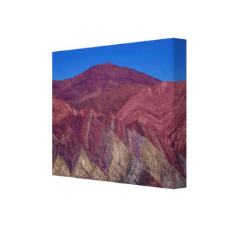 Serranias del Hornocal Impresión En Lienzo