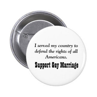 Serví mi país para defender las derechas de todos… chapa redonda de 5 cm