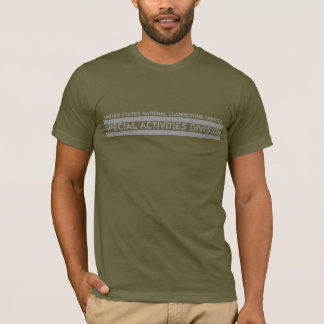 Servicio clandestino nacional camiseta
