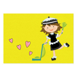 Servicio de la limpieza - SRF Tarjetas De Visita