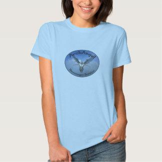 servicio de mensajero del arcángel camisas