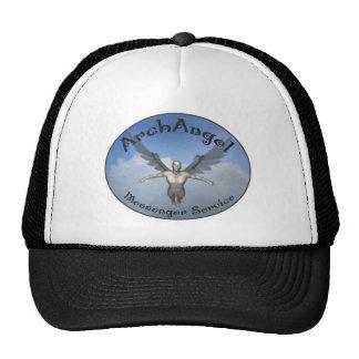 servicio de mensajero del arcángel gorras de camionero
