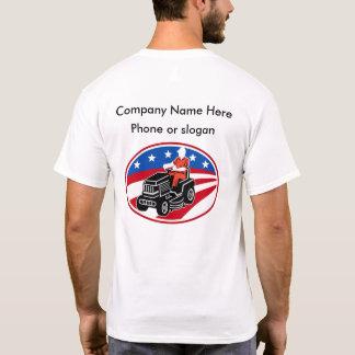 Servicio del cuidado del césped camiseta