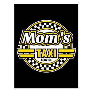 Servicio del taxi de la mamá postal