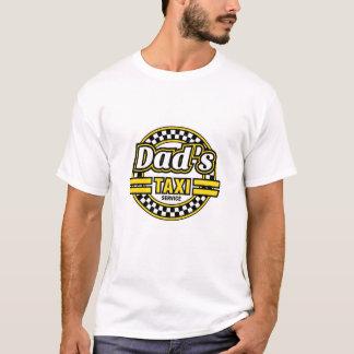 Servicio del taxi del papá - regalo divertido del camiseta