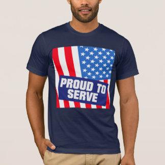 Servicio militar de los E.E.U.U. Camiseta
