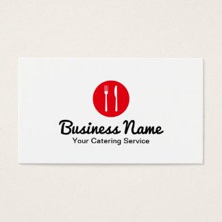 Servicio rojo moderno del abastecimiento del punto tarjeta de negocios