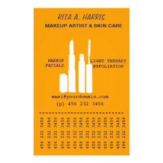 Servicios a empresas cosméticos de los productos d folleto 14 x 21,6 cm