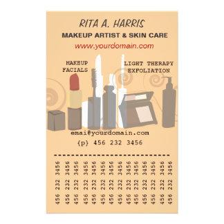 Servicios a empresas de los productos de belleza flyer