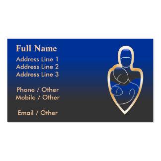 Servicios de la familia plantillas de tarjeta de negocio