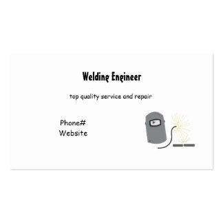 Servicios de la soldadura tarjetas de visita