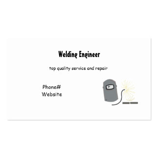 Servicios de la soldadura tarjeta de visita