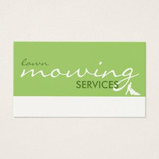 servicios de siega del césped (personalizable del tarjeta de negocios