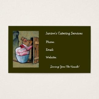 Servicios del abastecimiento: Mrs.Tittlemouse Tarjeta De Negocios