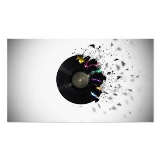 Servies de DJ Tarjetas De Negocios