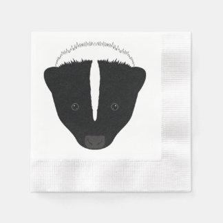 Servilleta De Papel Cara de la mofeta