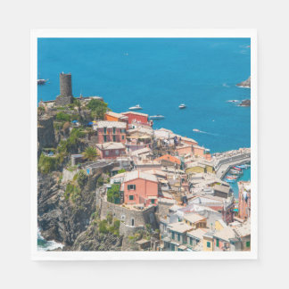 Servilleta De Papel Cinque Terre en Italia