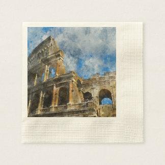 Servilleta De Papel Colosseum en Roma antigua Italia
