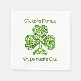 Servilleta De Papel El día de St Patrick personalizado