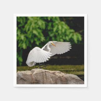 Servilleta De Papel Gran Egret