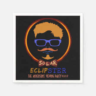 Servilleta De Papel Inconformista divertido eclipse solar del 21 de