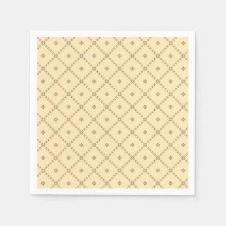 Servilleta De Papel Modelo del amarillo del diseño gráfico