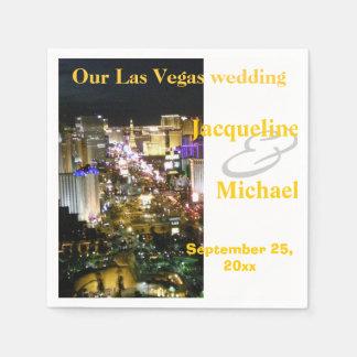 Servilleta De Papel Recepciones nupciales de Las Vegas