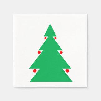 Servilleta De Papel Servilletas del árbol de navidad