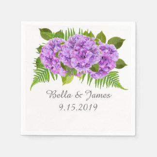 Servilleta De Papel Servilletas púrpuras modernas de la colección del