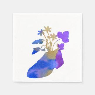 Servilleta De Papel Shoeflowers