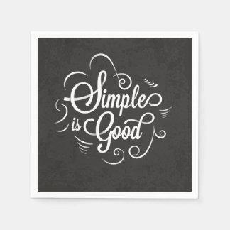 Servilleta De Papel Simple es la buena cita de motivación de la vida