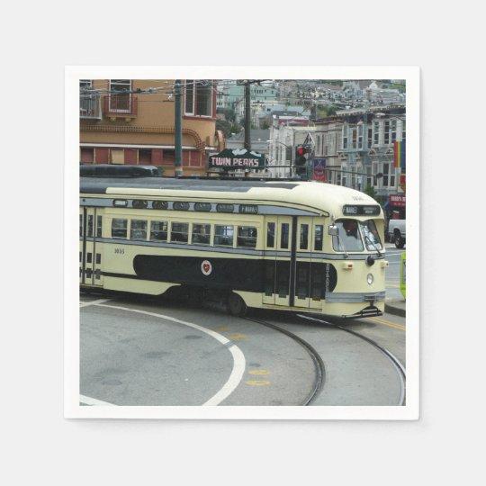 Servilleta De Papel Teleférico de San Francisco