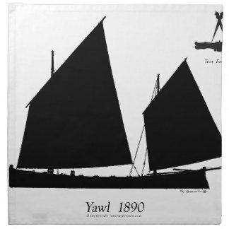 Servilleta De Tela 1890 yola - fernandes tony