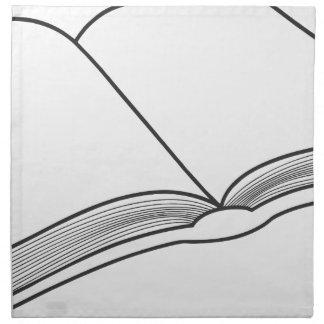 Servilleta De Tela Abra el libro